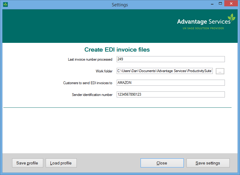 Create EDI Invoices - Edi invoice