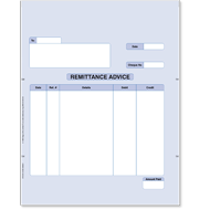 Sage Remittance Advice Stationery