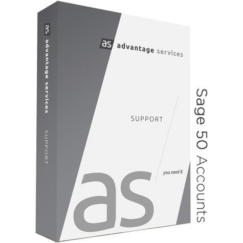 Sage 50 Accounts Advantage Support